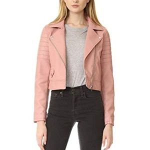 Blank Denim Women's Pretty in Pink Moto Jacket